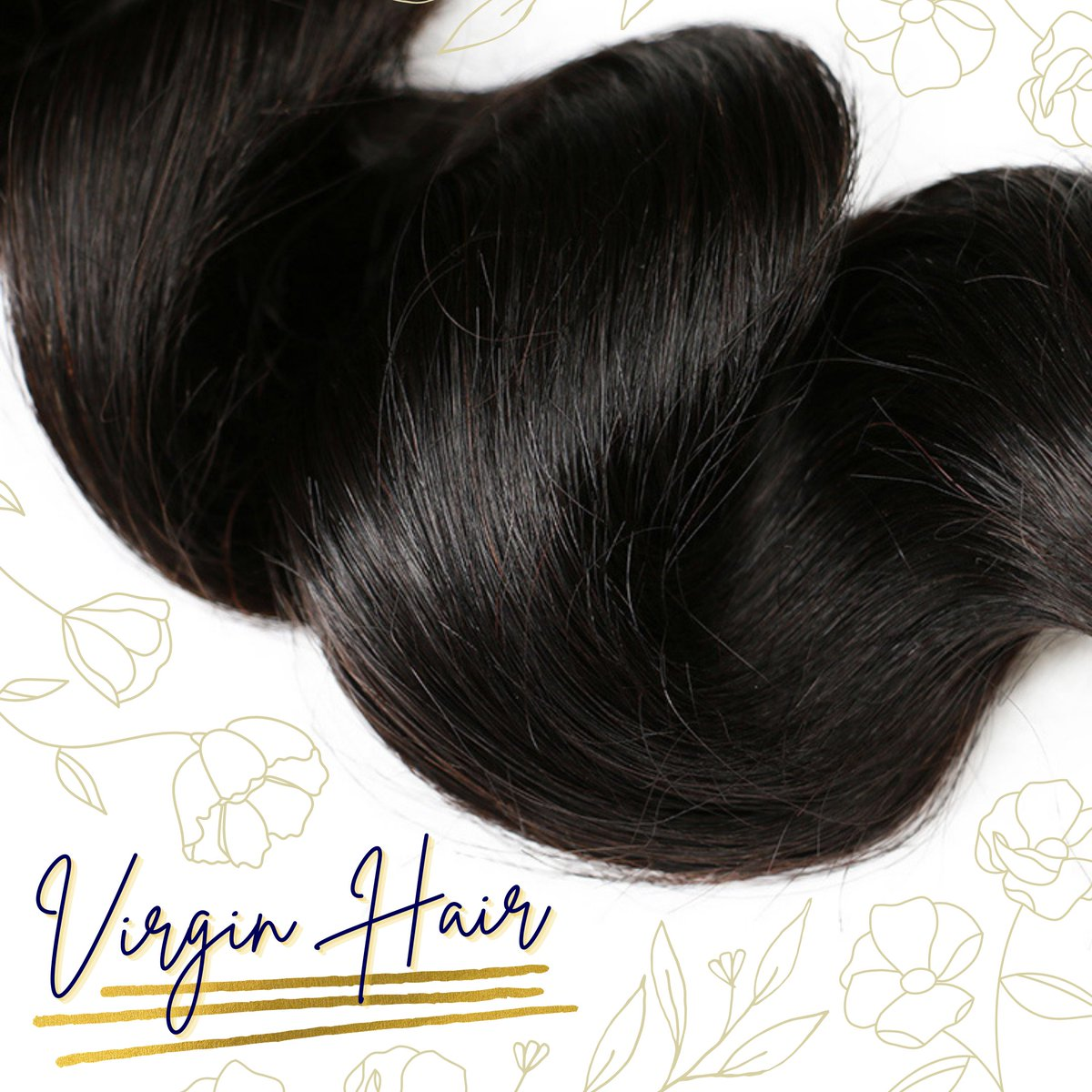 [PRODUCT FEATURES]  We sell high-quality #VirginHair with healthy, intact cuticles that are gathered by a sturdy, machine-weft bundle! Then pair the bundles with a closure made with high-quality lace to give you a natural hairline and seamless transition. 💁🏾♀️✨ #beauty #hair