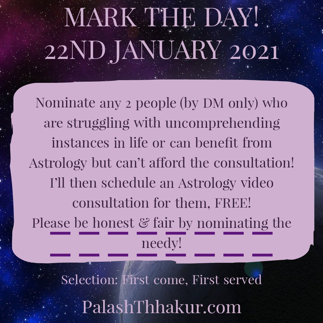 Free Astrology Session for the Needy! 22nd Jan 2021 #astrology #india #mumbai #ajmer #ahmedabad #bangalore #pune #kanpur #kolkata #agra #delhi #chandigarh #telangana #chennai #indore #thane #udaipur #dehradun #Hyderabad