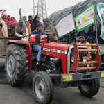Image for the Tweet beginning: Farmers want permission for tractor