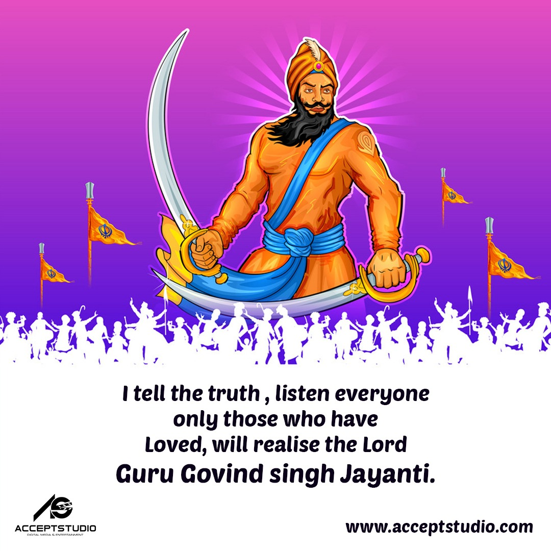 Guru Gobind Singh Jayanti (also spelled Govind Singh) is a Sikh festival that commemorates the birthday of Guru Gobind Singh Ji, the tenth Guru of the Sikhs. It is a religious celebration in which prayers for prosperity are offered  #GuruGovindSingh #Sikh