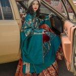中国で流行っている漢服!洋装のアイテムや近代的な風景とのマッチングが素敵