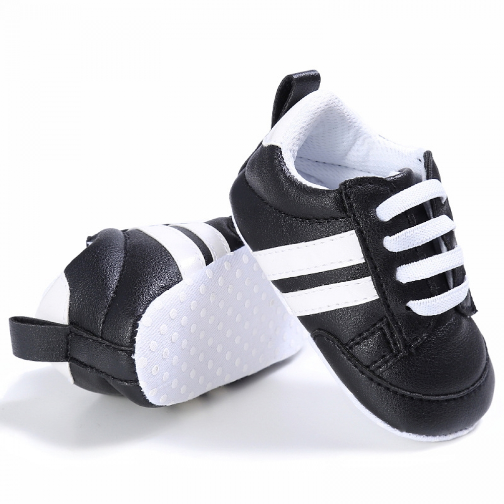 Cute Comfortable Soft Leather Baby Sneakers #newbornphoto #babylove