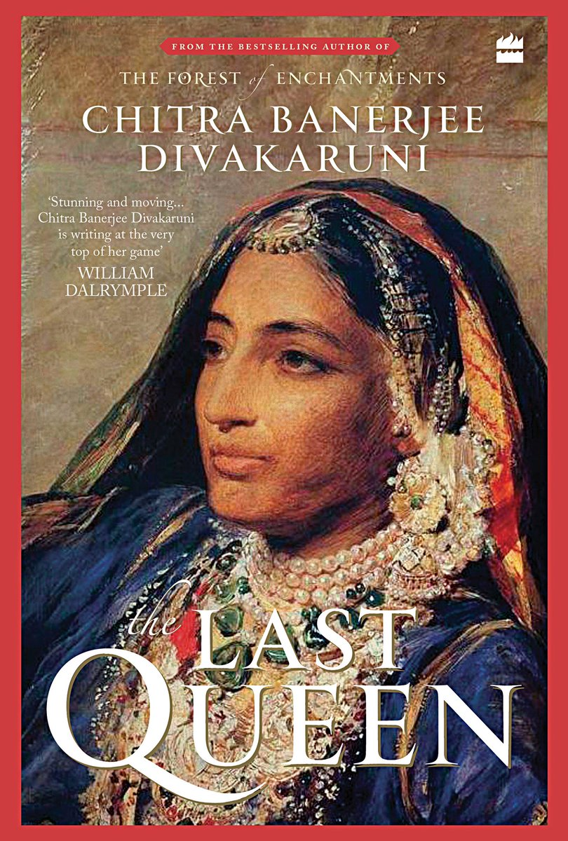 'How hard she had fought against the British, against her own treacherous courtiers...a lone woman among all those men, the last queen of Punjab' #TheLastQueen @cdivakaruni Happy publication day! @HarperCollinsIN