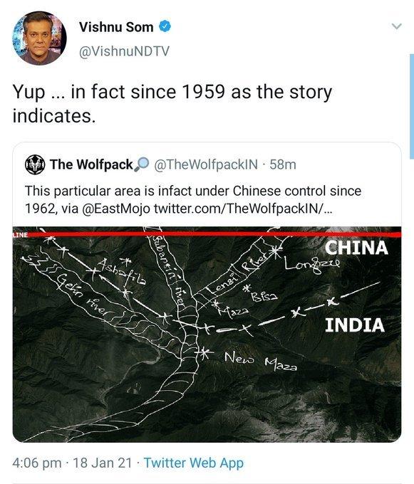 NDTV blaming PM Modi for Bharatiya territory occupied in Arunchal Pradesh since Nehruvian days ... So cute. #NDTV #NDTVTopStories