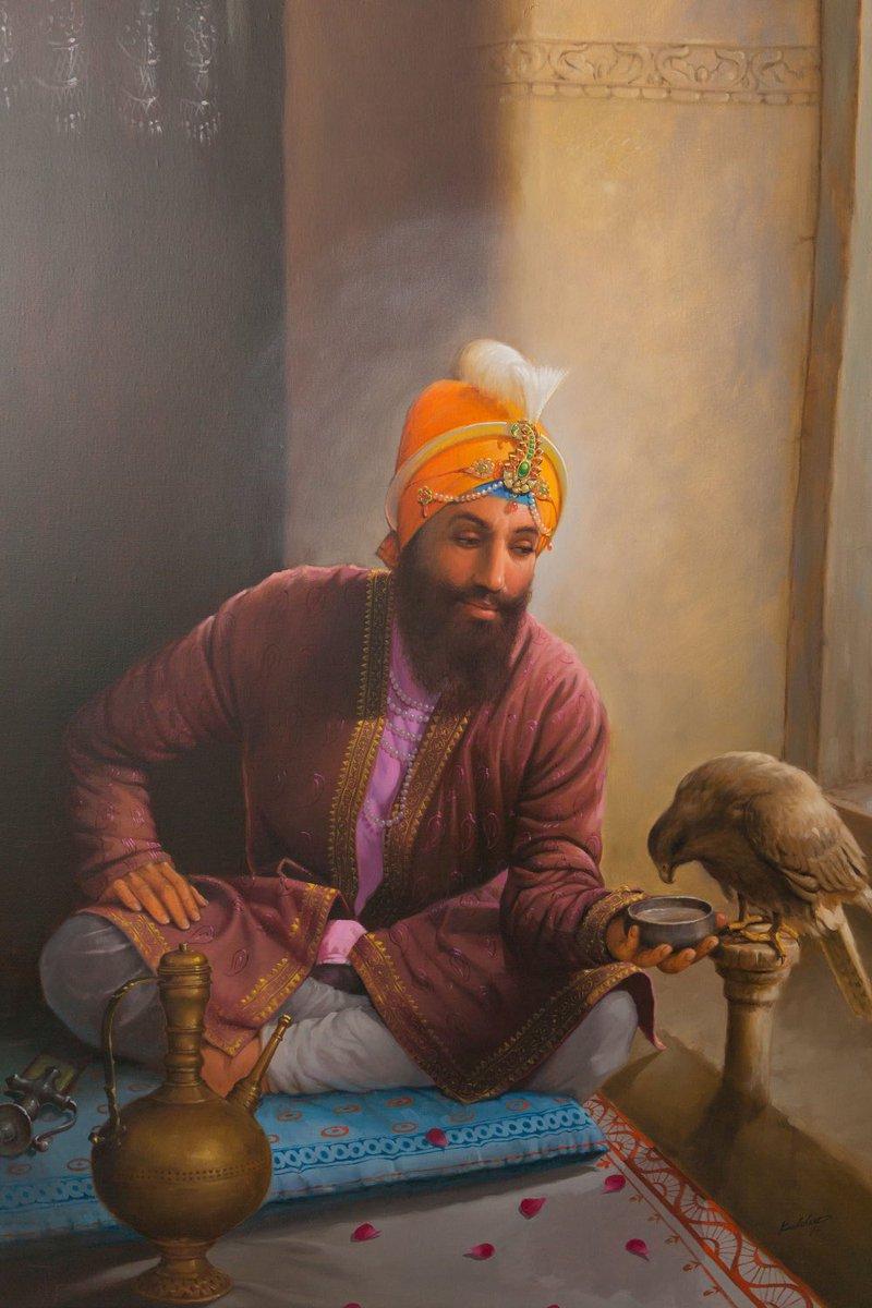 Faiz-e-noor 🪔  Shri Guru Gobind singh maharaj de gurpurab diya lakh lakh vadaiyan🙏🙏🦅🪔🌼🌸🌺 . . . #shrigurugobindsinghji #sikh #sikhgurus #gurpurab