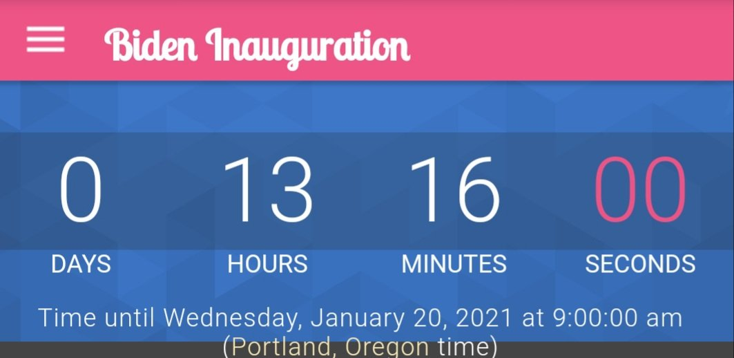 SO CLOSE! #ByeByeTrump #ImpeachmentDay #ImpeachedTwice #TrumpsLastDay