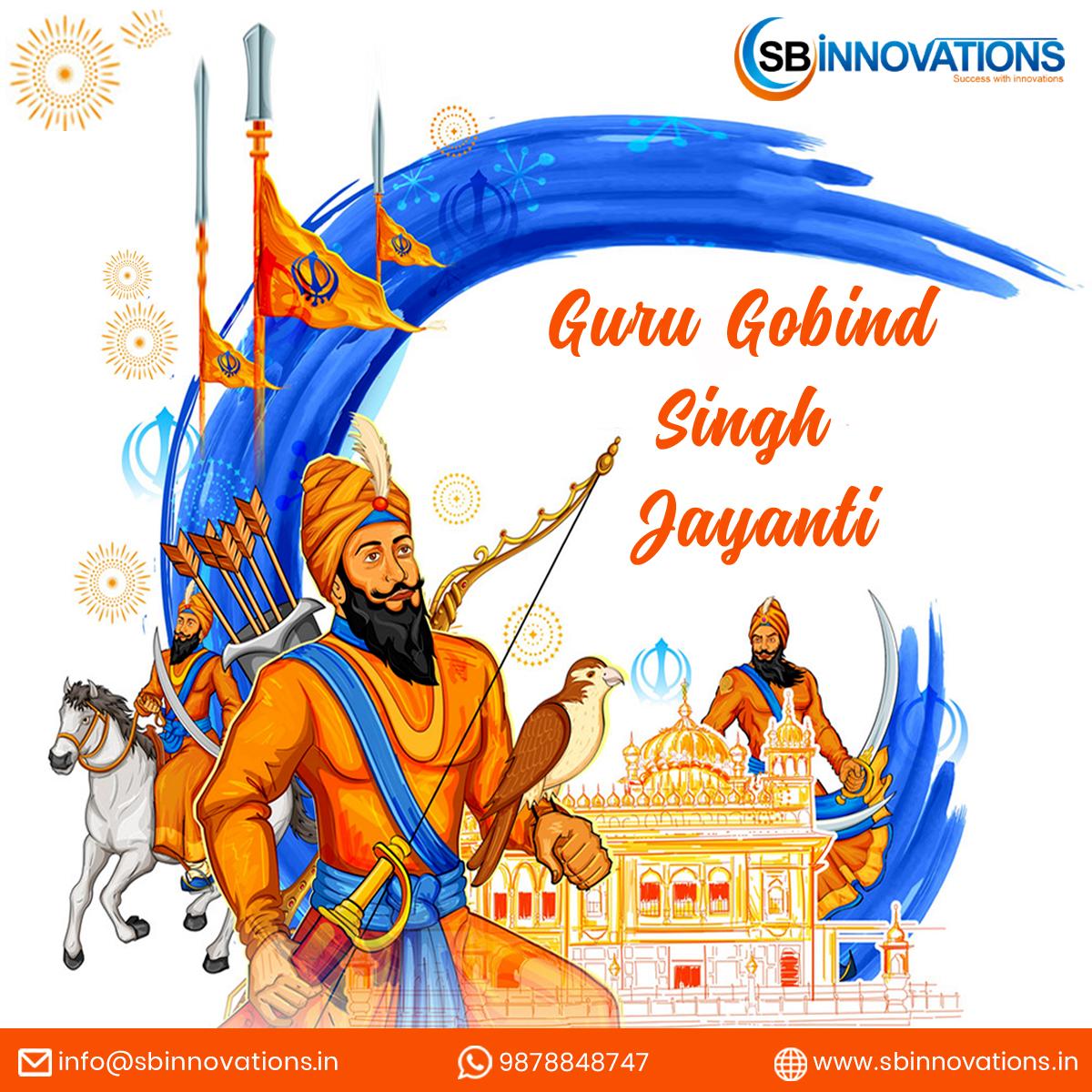 Happy Guru Gobind Singh Jayanti  May the teachings of GuruGobindSingh Ji, a spiritual master, warrior, pure soul, and philosopher, keep guiding us on the path to righteousness and wisdom.  #gurugobindsingh #gurugobindsinghjayanti #guruparab #sikh #khalsa #GuruGobindSinghJayanti