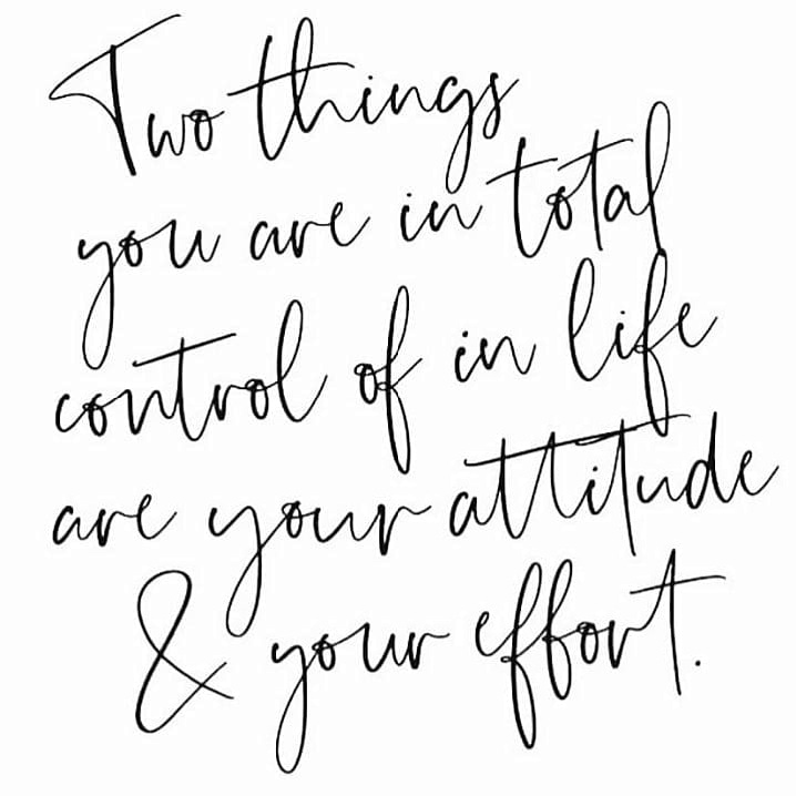 A positive attitude may not solve all your problems, but it will annoy enough people to make it worth the effort.  Happy Wednesday! #takecontrolofyourlife #positivevibes #attitude #effort #livelifehappy #livelifetothefullest