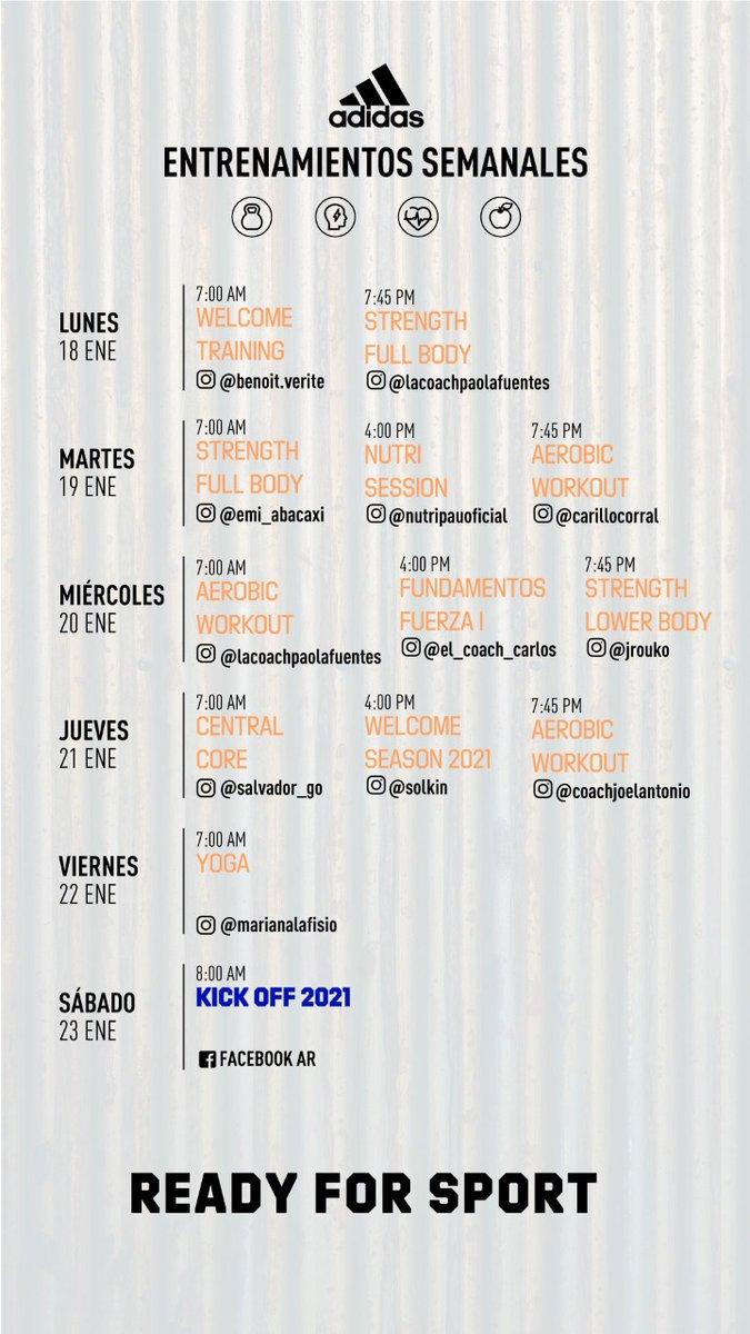 🏃♀️🏃♂️👍🙂👉¡Retomamos en el 2021 los entrenamientos virtuales de @adidasMX con el equipo adidas Runners Mexico City, 18 al 23 de enero!  #adidas #adidasrunnersmexicocity #adidasMéxico #ReadyForSport #ReadyToRun #HomeTeam #Enero2021 #Corre #Run #Running #RunningLife #Nadatedetiene