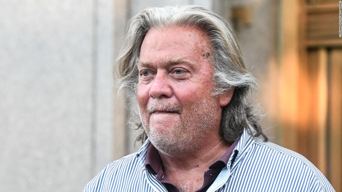 BREAKING: President Trump tells people he has decided to pardon his former chief strategist Steve Bannon as one of his final acts in office