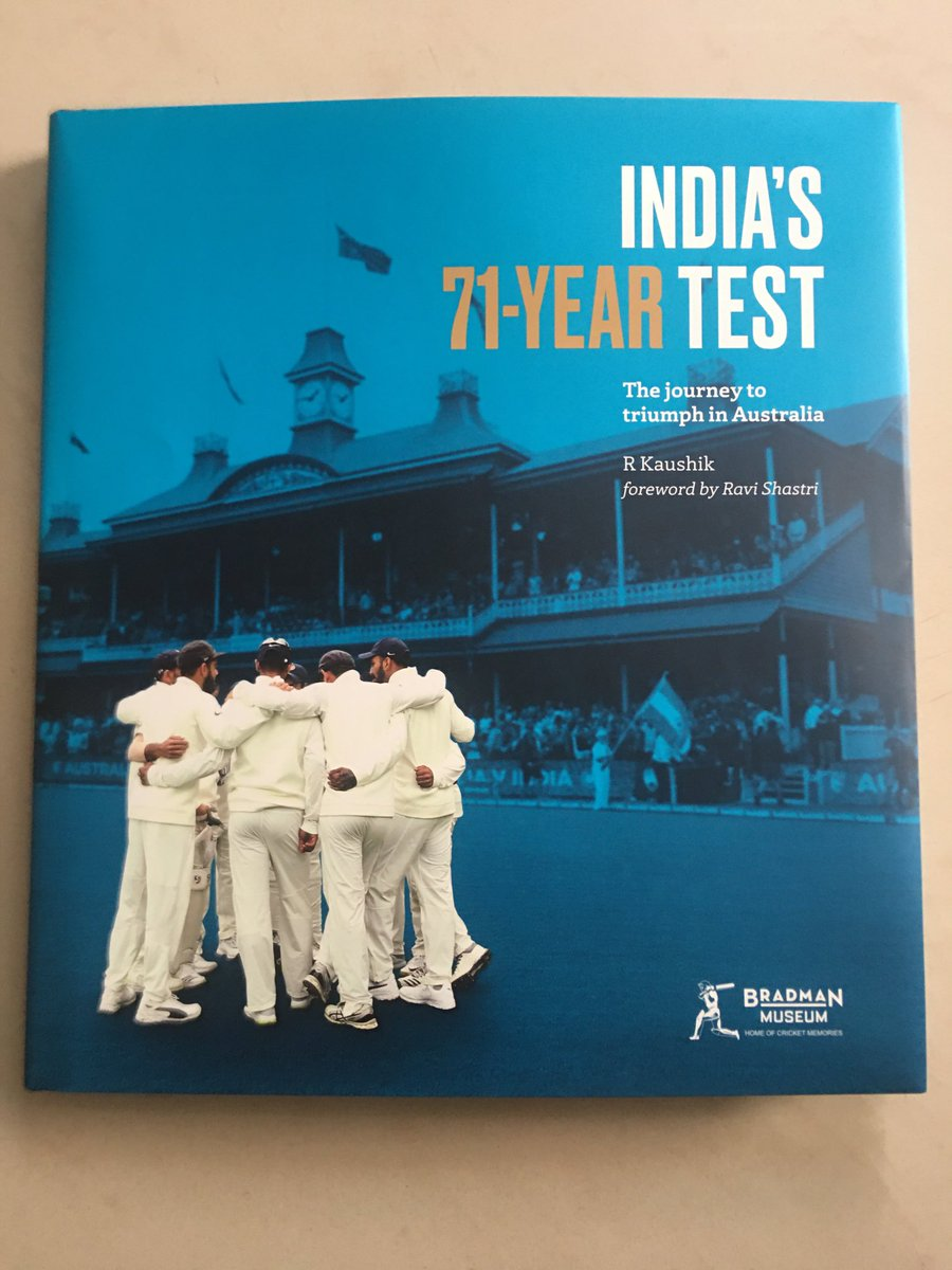 You need to experience the journey, if only in words and pics, to wholly appreciate what happened at the #GabbaTest #IndvsAus 