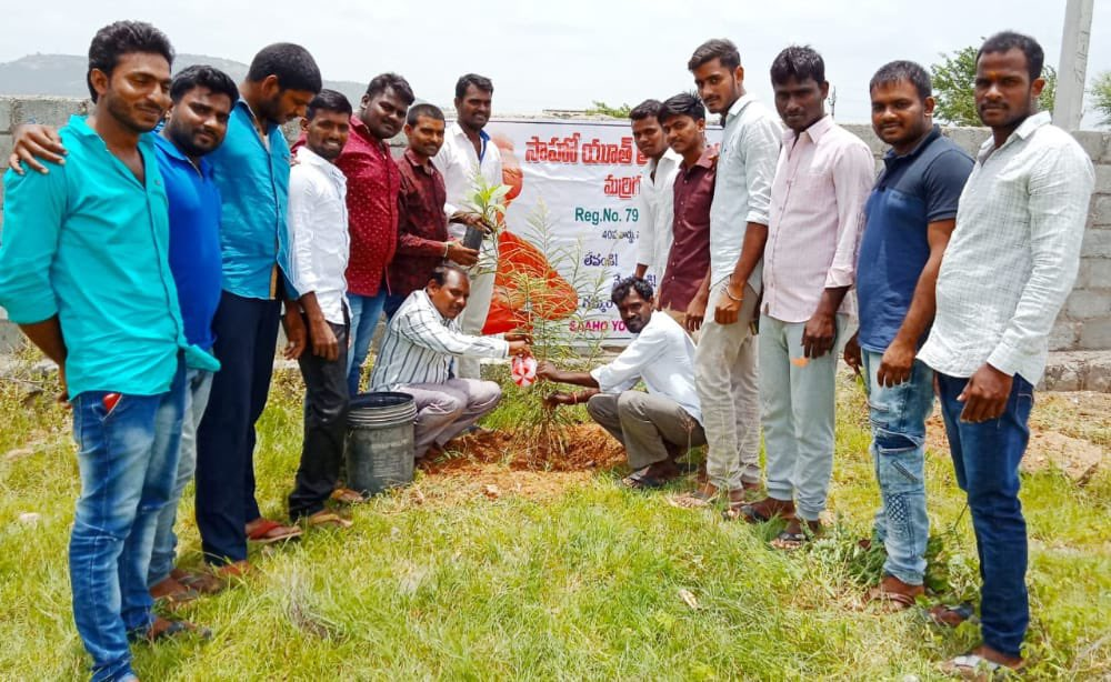 When the youth determine to do something, nothing can stop them. Appreciate the members of Saho Youth Association, Marrigudem, Nalgonda for planting around 200 saplings and protecting them until they grow.  #GreenIndiaChallenge 🌱🌱🌱.