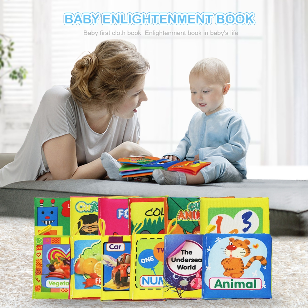 #baby Cool Play Soft Cloth Books