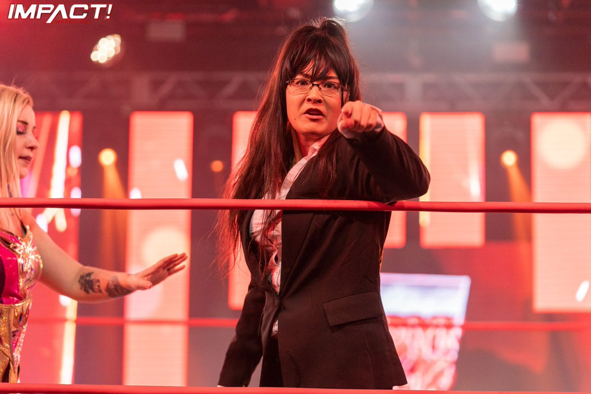 Susan would like to speak to your manager. #IMPACTonAXS