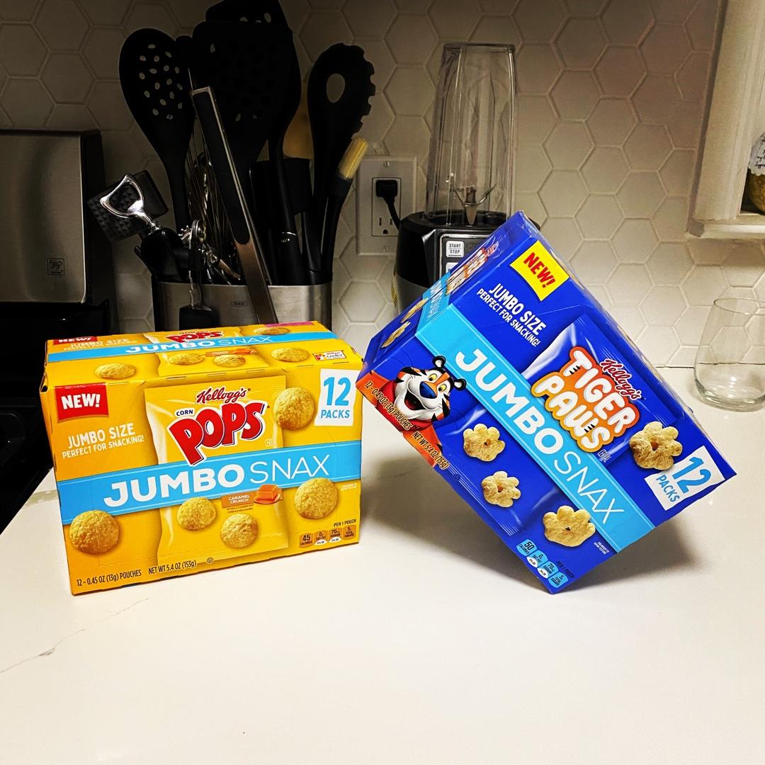 #JumboSnax #contest #complimentary @KelloggsUS @Influenster another complimentary snack from Influenster https://t.co/7oJikymiwk