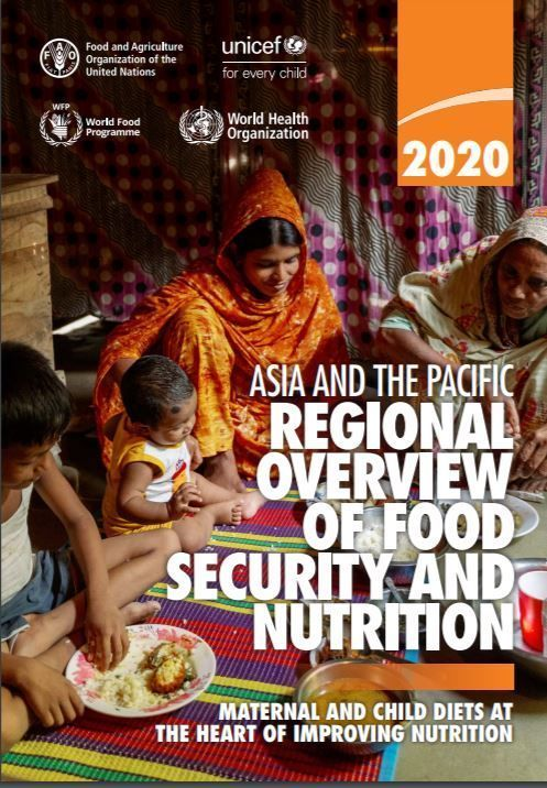 Economic impact of #COVID19 threatens to undermine efforts to improve diets & nutrition of nearly 2 billion people in Asia-Pacific, already unable to afford healthy diets prior to pandemic, says a report published today by 4 agencies of the UN #SOFI2020: