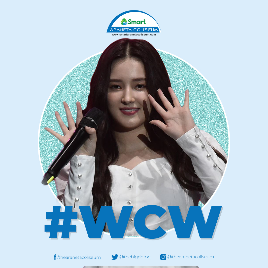 Say hello to our #WomanCrushWednesday, Nancy of @MMLD_Official! 😍✨  #wcw #NANCY #MOMOLAND #TheBigDome