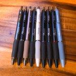 Image for the Tweet beginning: The best pens. @Sharpie #work