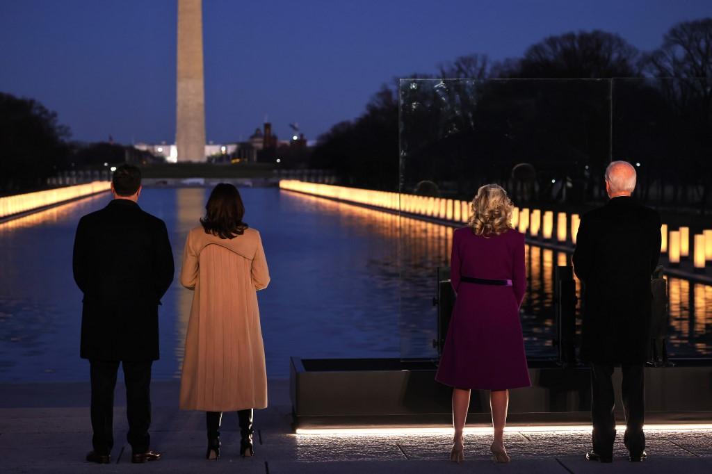 #بايدن يحيي في #واشنطن ذكرى 400 ألف أمريكي حصد أرواحهم #كوفيد_19                               #أخبار_الآن