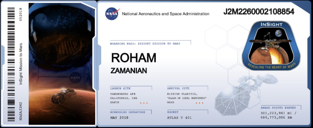 Meanwhile in space: after nearly 3 short years, now T minus 30 days to #Mars landing!  @NASAPersevere 🛰🚀@NASA  thanks for the 301 million award miles.  Does that get me premium executive platinum?  Or is it #Titanium status? 🤣💪🏼
