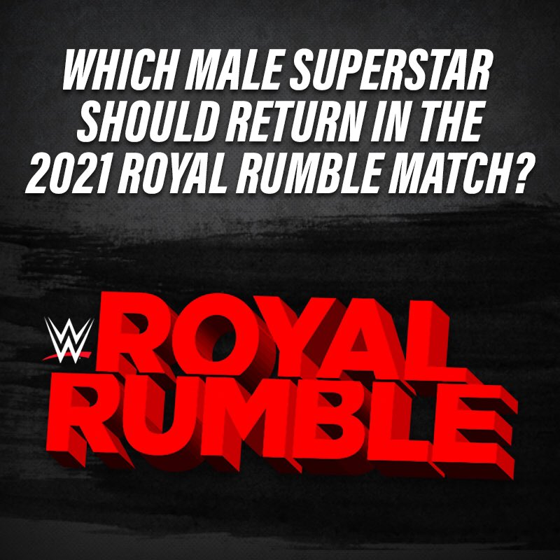 Who do you think could make a surprise return in the #RoyalRumble Match this year? ⬇️