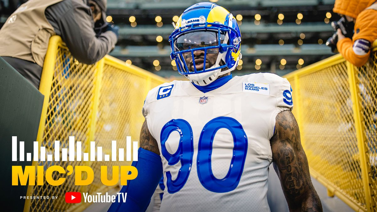 """""""Let this eat at your soul, you hear me? Let's work out, get better next year.""""  @YouTubeTV Mic'd up: @MichaelBrockers"""