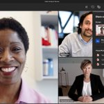 Image for the Tweet beginning: New #MicrosoftTeams sharing experience on