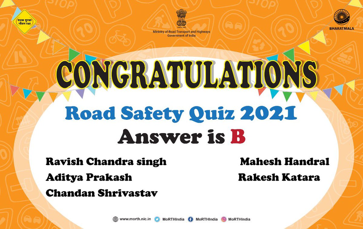 Congratulations to everyone for the right answer.