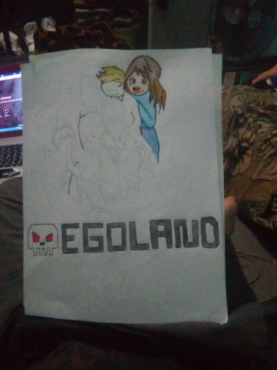 Boceto de Egoland  En un comentario puedes darme ideas ^^ Si te gusta puedes darme una pequeña donación  Me ayudarías bastante para seguir creciendo como dibujante ^^  #EGOLAND #EgoLandfanart #egoart #egolark