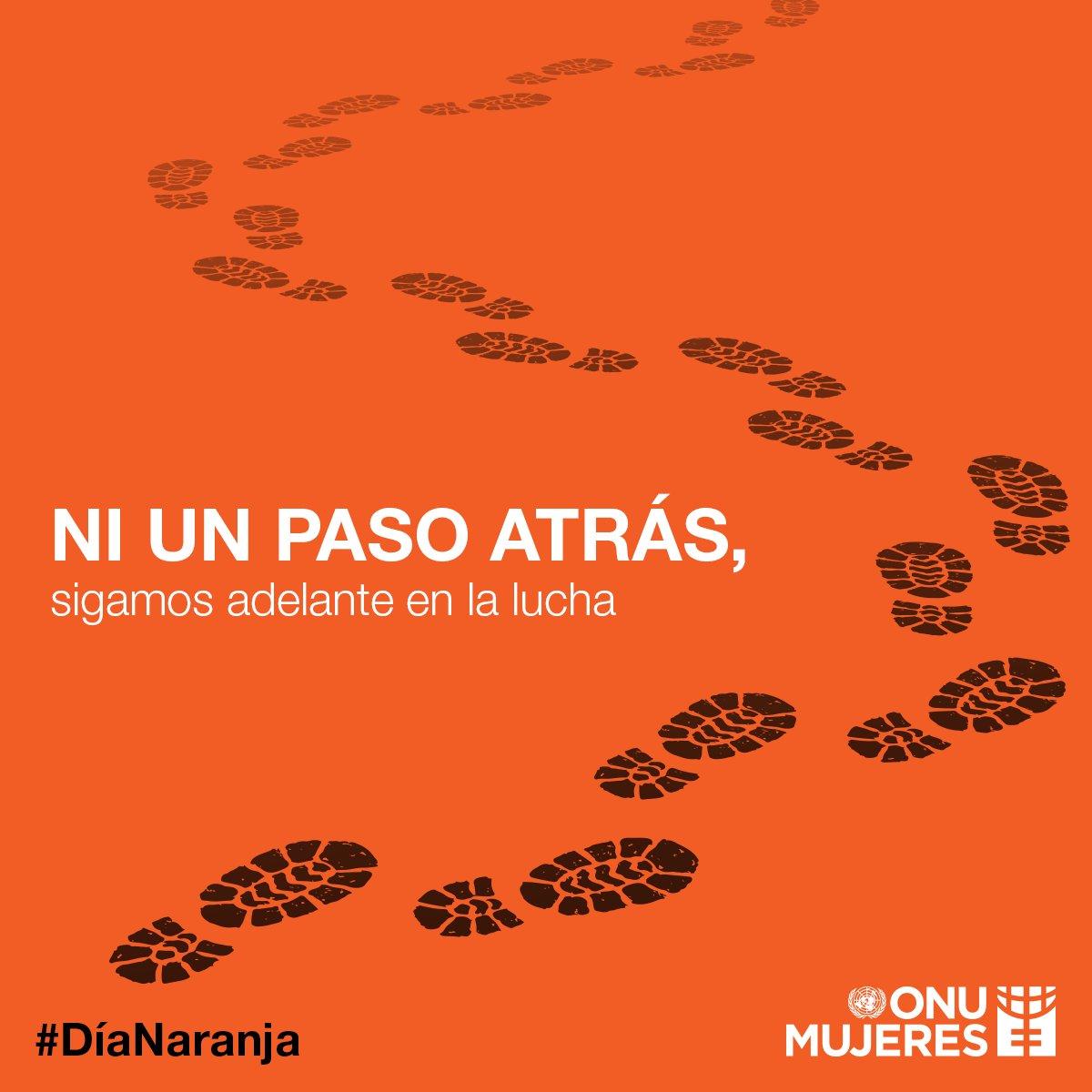 No dejaremos de luchar hasta que la violencia contra las niñas y las mujeres tenga su fin, ¿te unes? 🟠 #DíaNaranja #Únete
