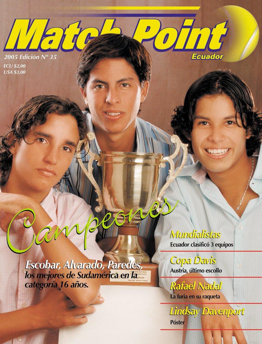 #EfeméridesKCtenis 20 enero, 1989 nació en Manta @goescobar89 campeón sudamericano cat 16 años, medalla de oro Panamericana dobles Lima, ascenso al Grupo Mundial (Finales) #CopaDavis 2020, campeón dobles #ATP250 Delray Beach, #65 del mundo dobles, graduado en Univ Texas Tech. HB https://t.co/t3JhoUxnQx