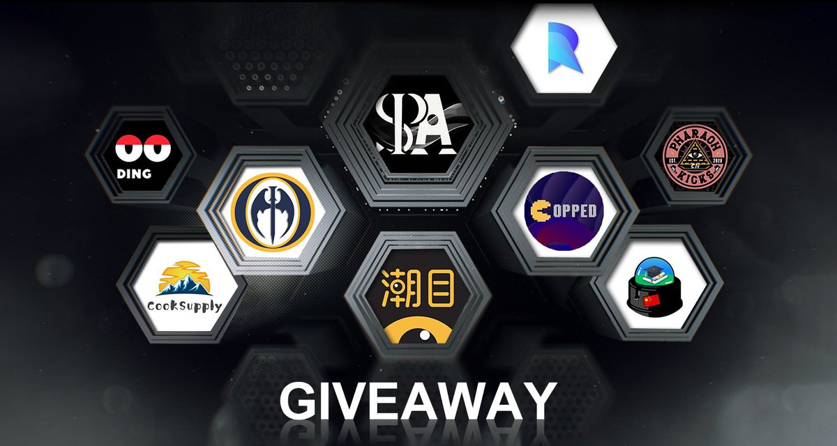 💌SPA PROXIES 1.0 GIVEAWAY We are so glad to have @TheOilEdu @PharaohKicksCN @CooksupplyGroup @RealCookGroup @MonitorOcean @Yitian_Notify @DING_Pro_League @CoppedNotify participate in our Giveaway🔥 ✅RULES: ❤️Like ♻️Retweet 👨‍🍳@ your friends Check Prizes below End in 72 hrs