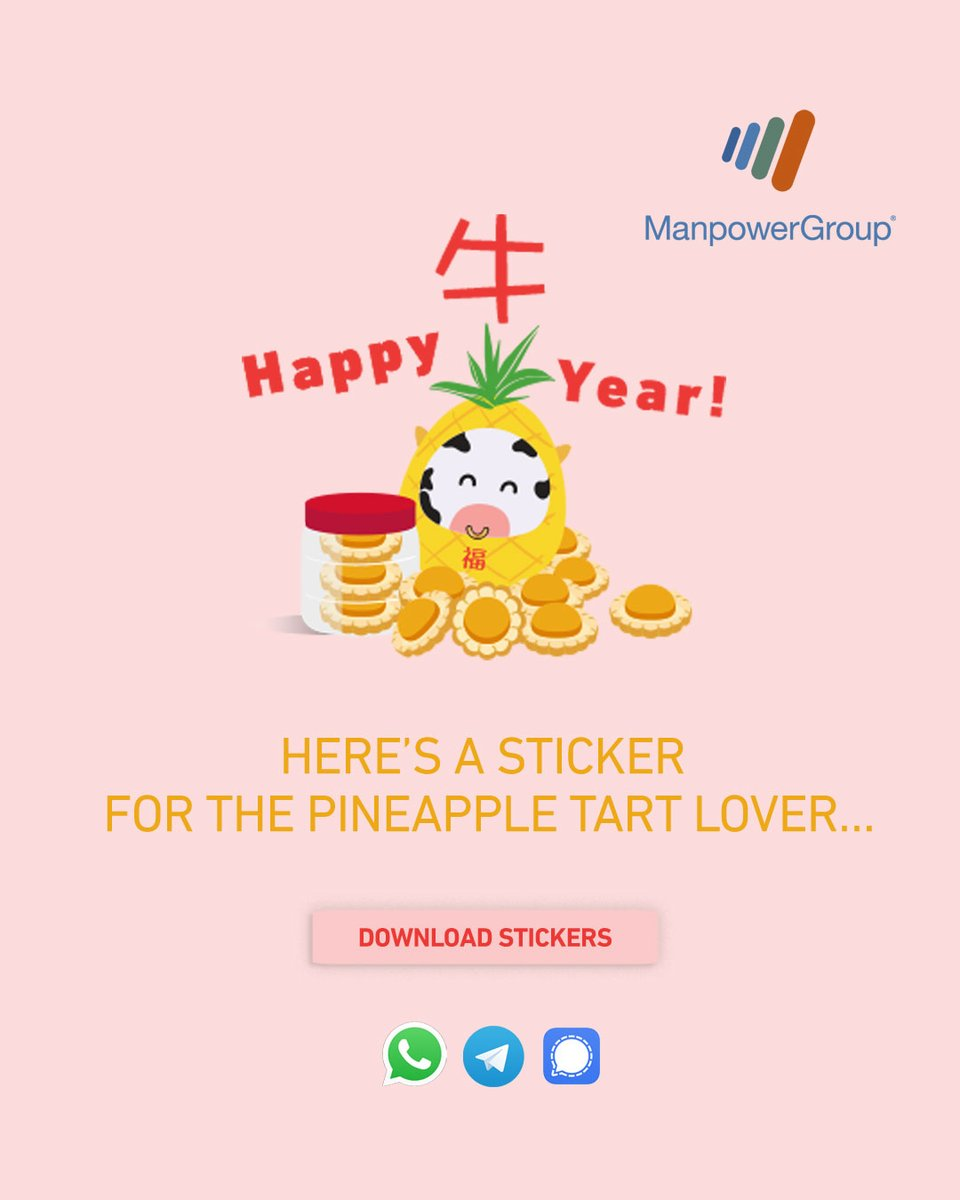 Add something ox-tra special to your chats with our stickers. Available on WhatsApp and Telegram. WhatsApp: https://t.co/T3DmyNC925 Telegram: https://t.co/qHs4umEQCf Signal: https://t.co/5dXuJ7qPWo  #HappyMooYear #CNY2021#Happy牛year #makeprivacystick https://t.co/0ySxOGkAKU