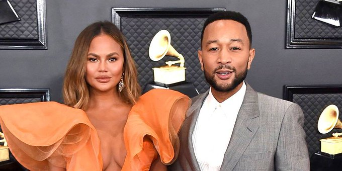 Chrissy Teigen Responds to Criticism for Attending 2021 Inauguration as Americans Are Asked to Stay Home Photo