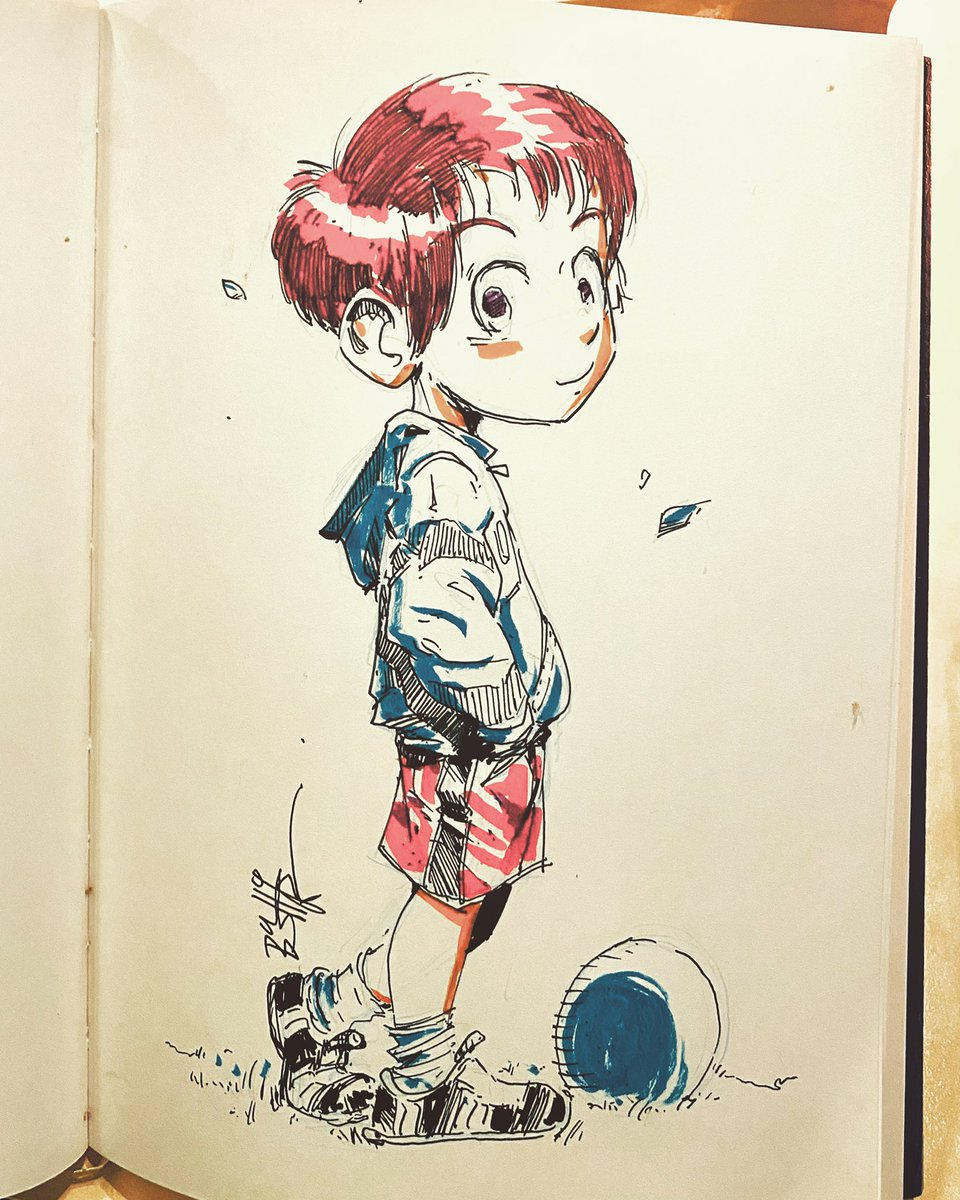Daily inking  #dailysketch #art #dailyinking #model #crosehatching #basharart #zurich #olten #head #ink #inkbrush #anatomy #anime #manga #comic #wiseman #visual #art #kunst #komic #baby