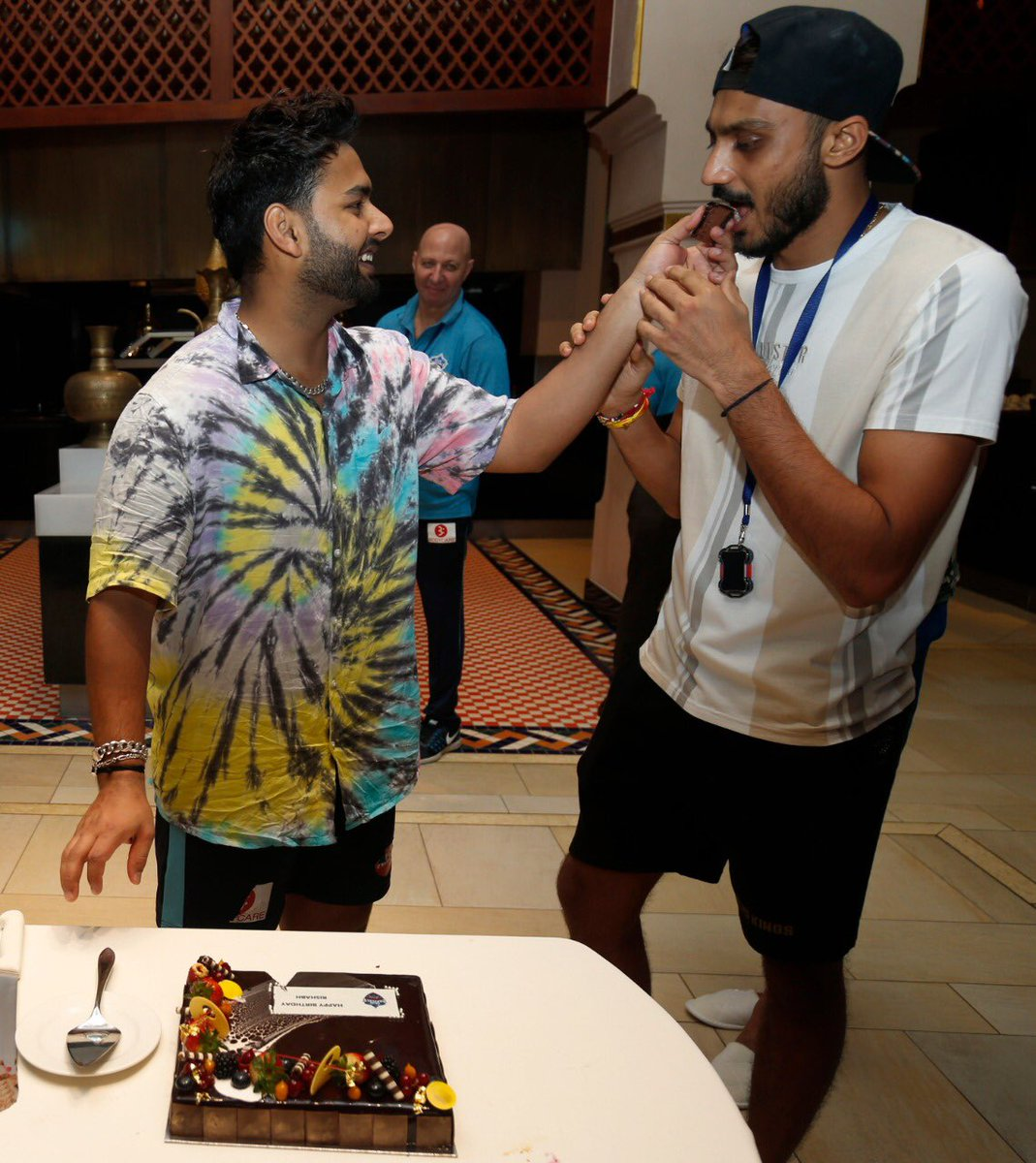 Happy Birthday, @akshar2026 bhai! Cheers to many more years of partnerships on and off the field!
