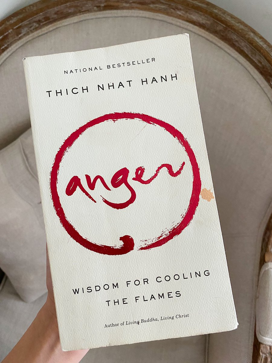Wisdom for cooling the flames by Thich Nhat Hanh Definitely in my re-read list. While it can get quite repetitive, he explains how to view your anger and any emotions as an organic part of you, how to embrace them and use mindfulness to counter those emotions.