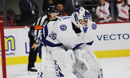 As #TBLightning hit the road for the first time this season, focus is on more than just the ice to make sure the game can go on after first NHL protocol test postpones game for #GoBolts opponent on upcoming trip plus Vasilevskiy sits out practice