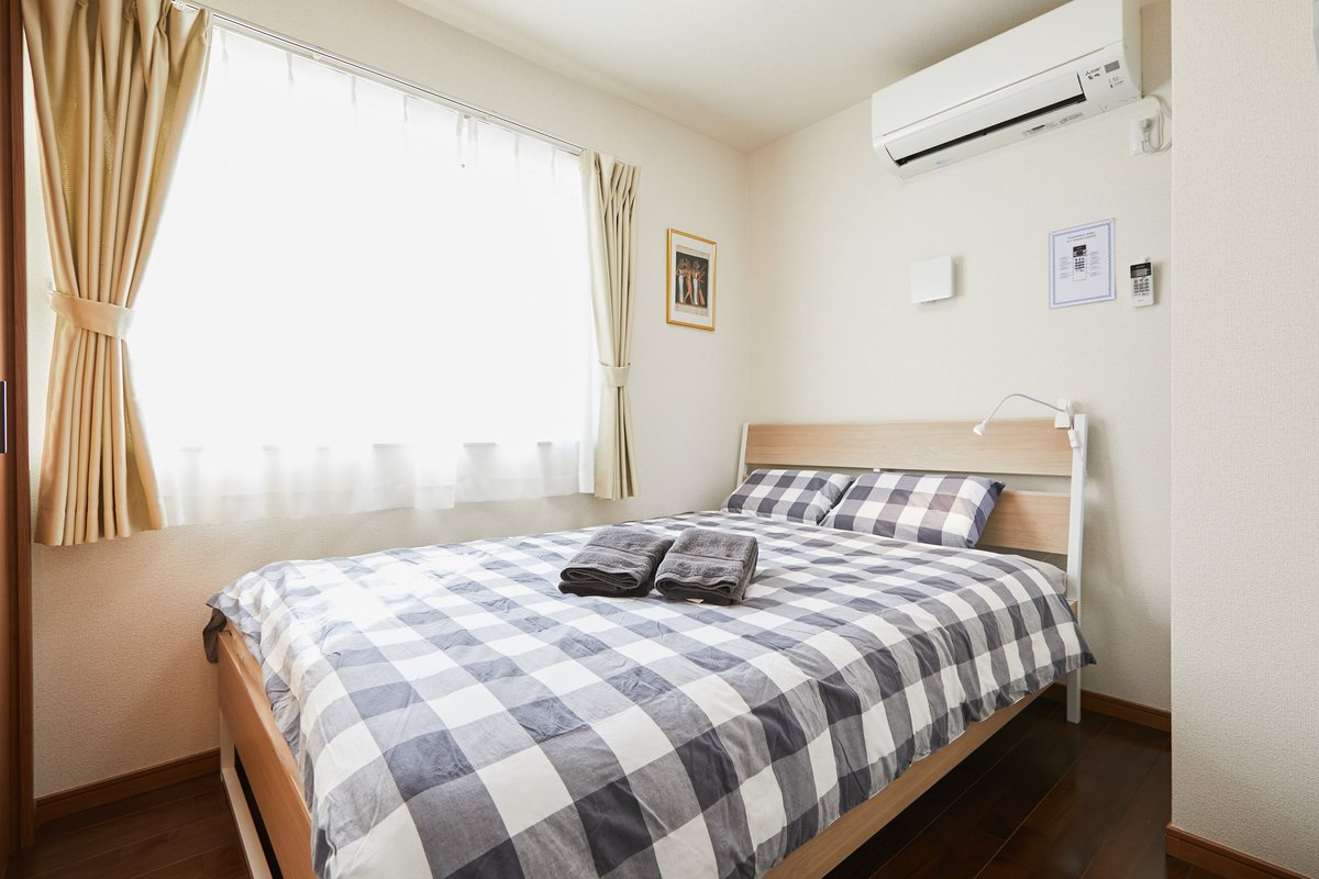 Relax in our house during your stay in #tokyo . Each room is set up with comfy beds.  Great place for groups.  ■For more information click the link :  ■Follow us on #instagram:   #vacations #trip #holiday #Japan #Spring2021