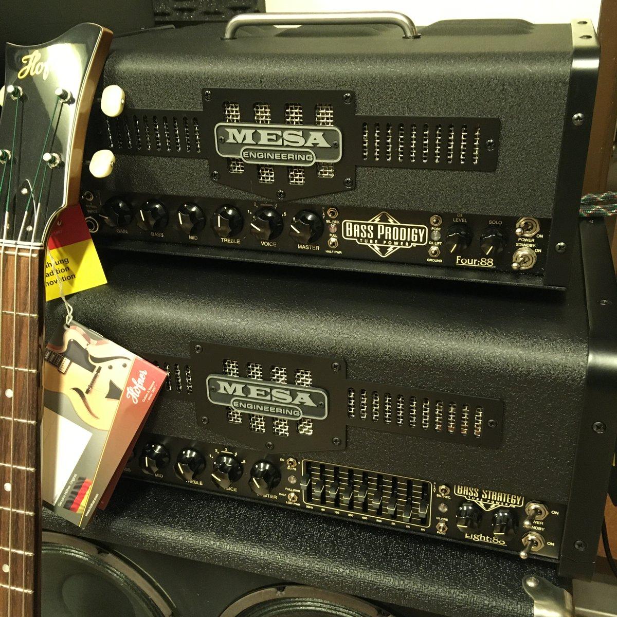 なんと!!この二台が並ぶのは稀です。 #ポールマッカートニー が近年のライブ用アンプとして使用している #MesaBoogie  Bass Strategy Head、さらに最新のMcCartney IIIのレコーディングにも使用されているという Bass Prodigy Head が超美品USEDにて!! 詳細は近日。 #McCartneyIII #PaulMcCartney