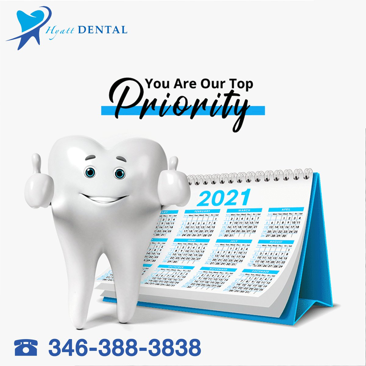 Definitely you are our top PRIORITY ✅ Get use of our offers now! Book your appointment now 😍  Phone 346-388-3838 📱 Adress 8619 Rihcmond ave. St. 700 Houston, TX 77063 📍 #texas#houstontexas #houston #texasdentist #texasforever #texasmade #texaslife #madeintexas #texascountry