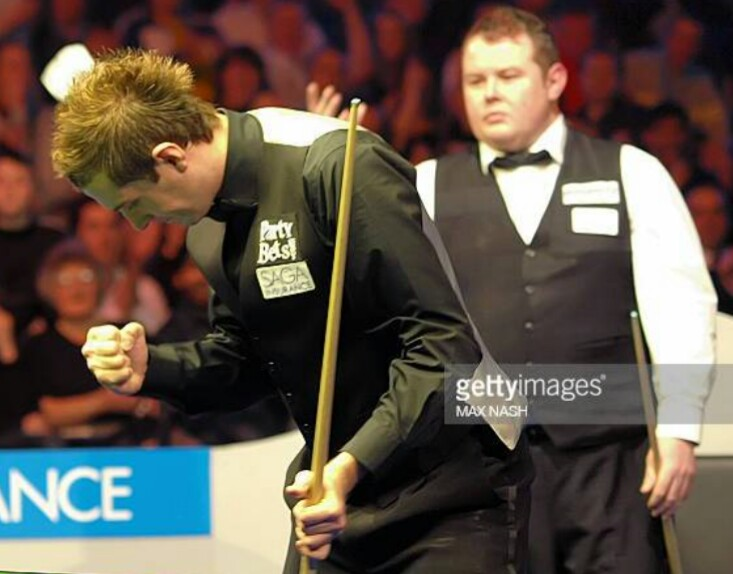 #OnThisDay 2008 Debutant Mark Selby won his first Masters title after beating Stephen Lee 10 - 3 with a total clearance of 141 in the final frame.  #snooker @markjesterselby  #memories