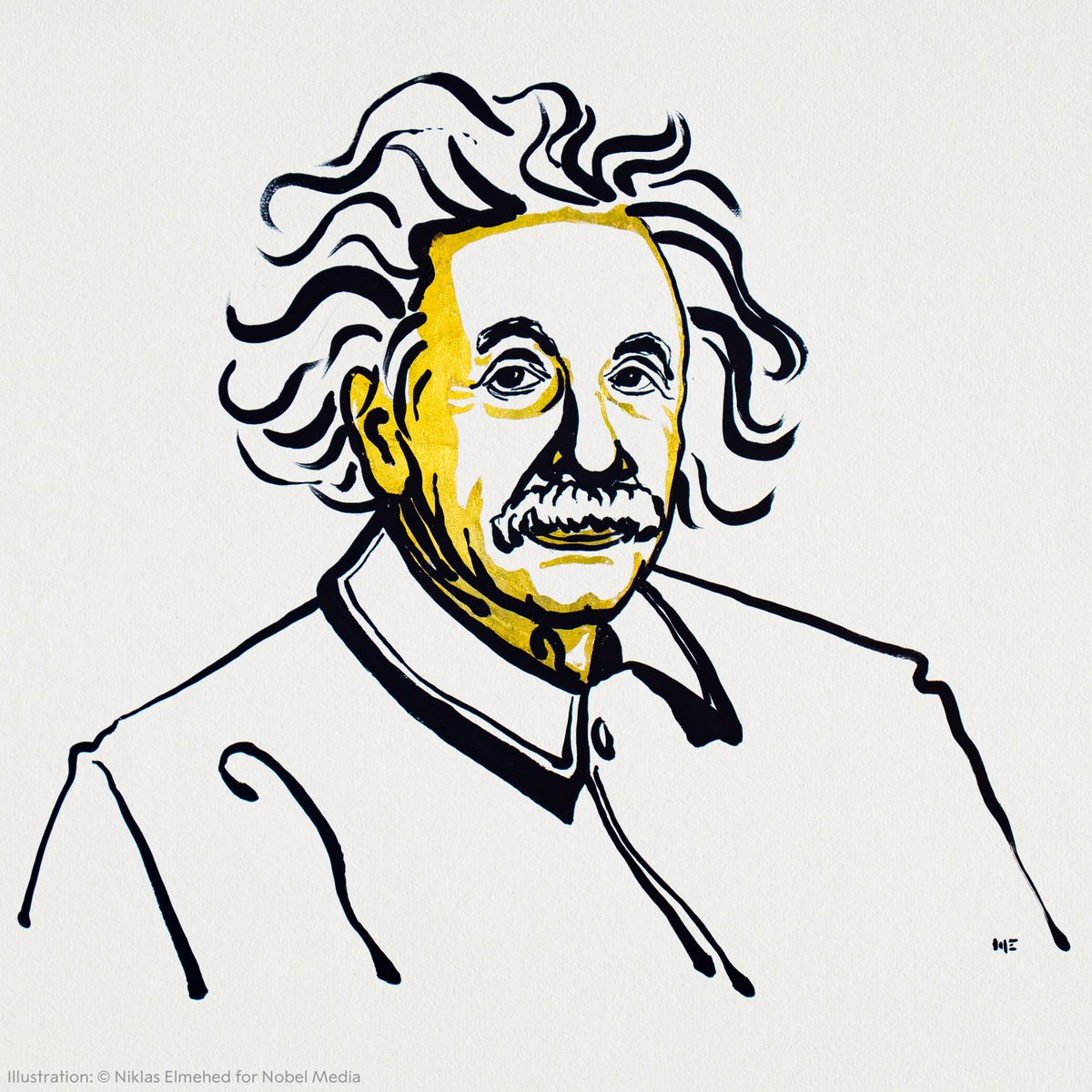 """""""I think and think for months and years, ninety-nine times, the conclusion is false. The hundredth time I am right.""""   Some midweek inspiration to all of us from 1921 Physics Laureate Albert Einstein."""