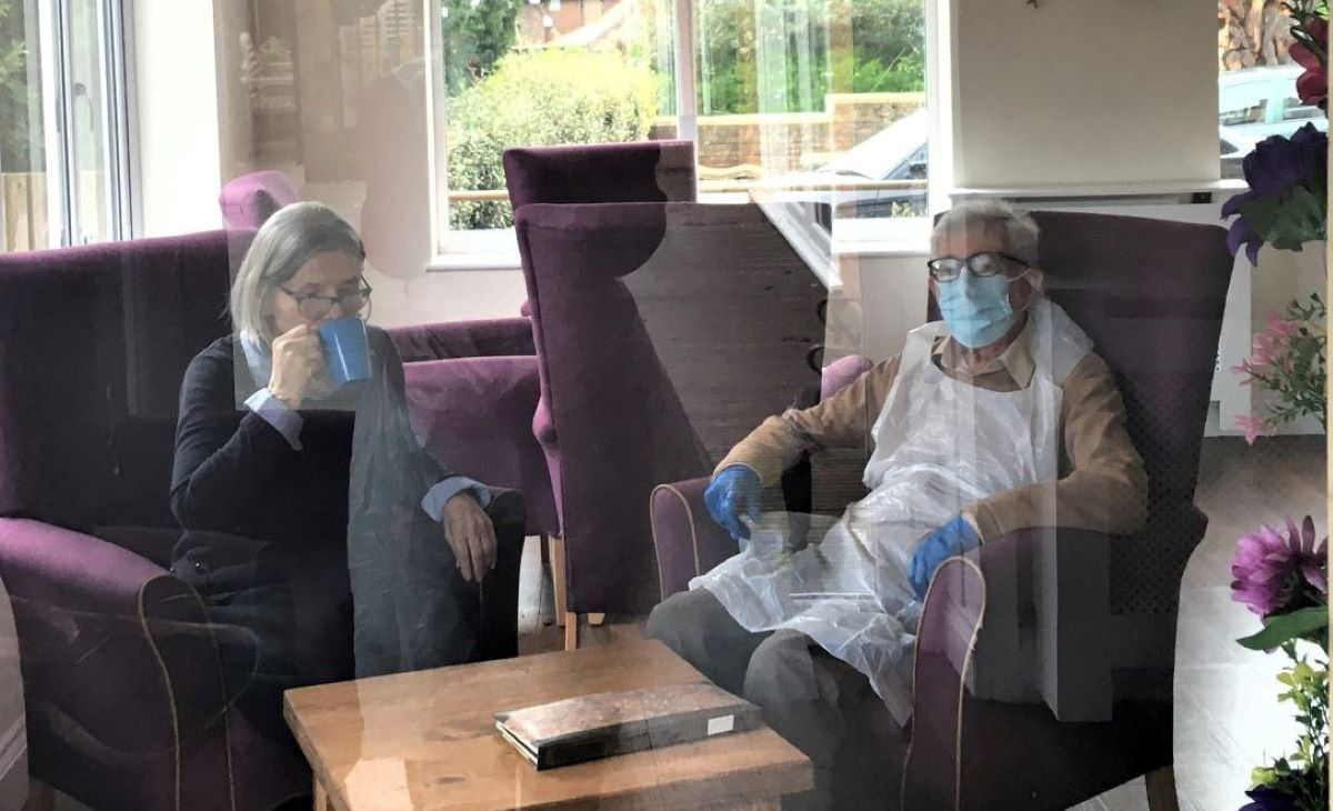 'I can now look forward in hope.' Tony's wife, Sheila, has Alzheimer's disease and lives in a care home. He has shared his experience of receiving his first dose of the coronavirus vaccination, and a new poem called The Jab. Read more here: