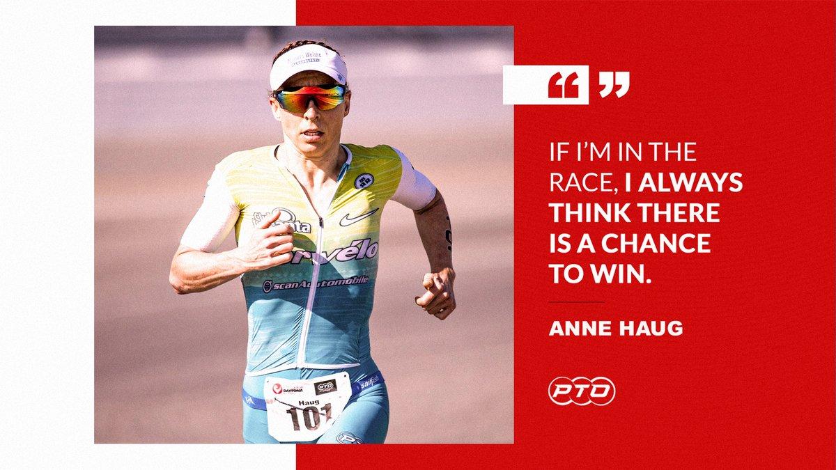 Tenacity from @haug_anne 💪 #WednesdayWisdom  Courage & conviction from one of the best athletes in the world 👉   #PTO #TriathletesUnite #Triathlon #WednesdayMotivation