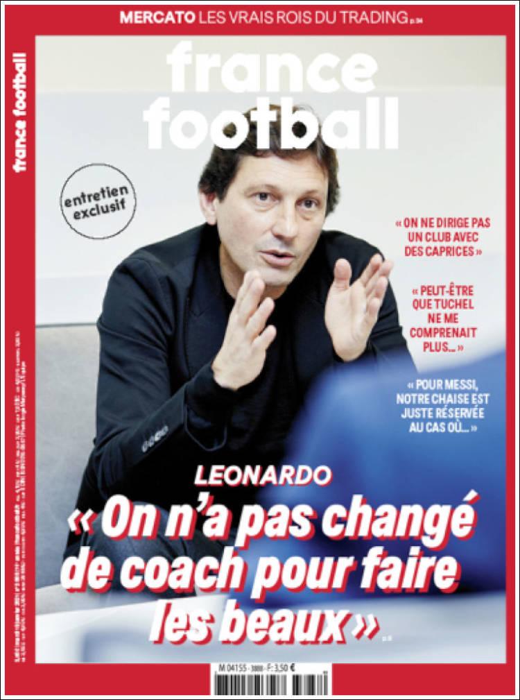 FRANCE FOOTBALL  #r2p #FranceFootball #Ligue1 #France #Football #FIFA #Leonardo #PSG #Zidane #CoupeDeFrance #Athlétisme #F1 #Ligue1 #OM #Marseille #MBappé #LDC #BallondOr #OL #Ligue2 #Tuchel #Messi #Deschamps #Camavinga #Dopage #Maradona #Pochettino