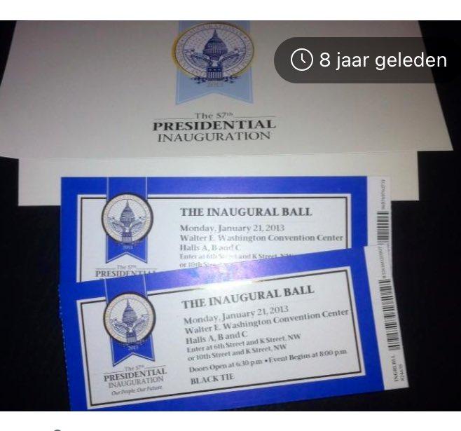 Acht jaar geleden toen er nog bals waren 🙃 #throwback #memories #InaugurationDay
