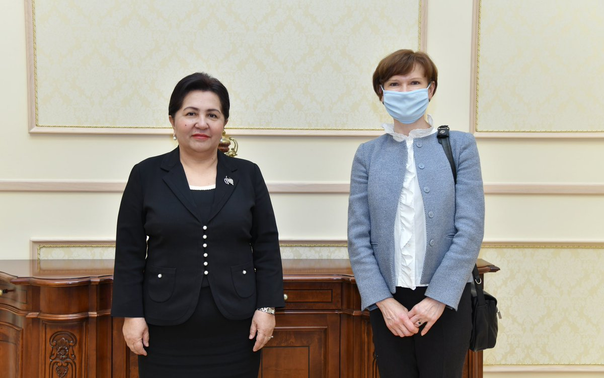Thank you so much for your time @TNarbaeva - it was wonderful to talk to you about the empowerment of women, disability rights, and ways to strengthen citizen engagement. Every meeting with you gives us renewed energy to do more to support Uzbekistan's transformation!