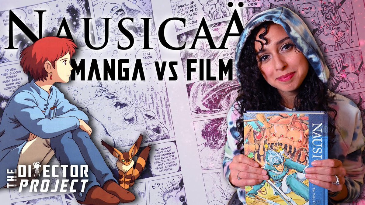So #YouTubers is trending, and I'd like you to know that my wife @imogen_reads puts a lot of thought into her content. Here's a recent video:  Miyazaki: From Manga to Masterpiece https://t.co/u9LOu1btks https://t.co/NGwdCyCinT