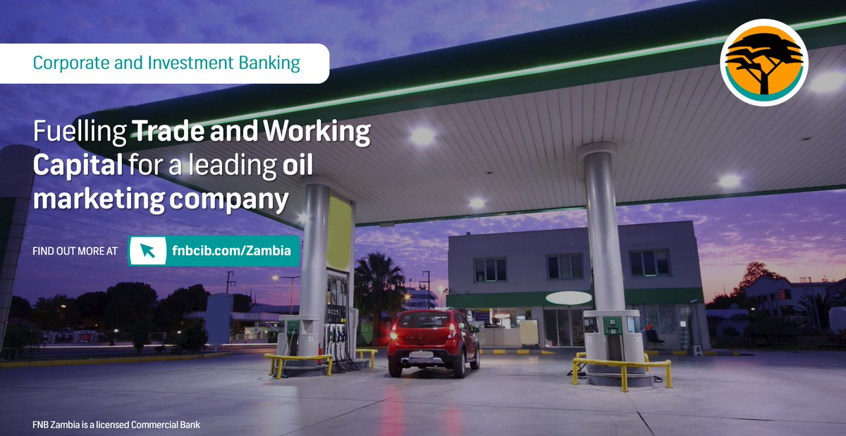 #RealHelp is providing a Trade and Working Capital (TWC) facility in excess of ZMW 100m for one of Africa's largest Oil Marketing Companies within 48 hours. Click the link to read more about how our Corporate Banking solutions offer clients #RealHelp https://t.co/1BmTW4dZbP https://t.co/PQv21EjDpq